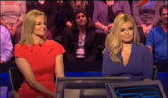 Katherine Jenkins and Gabby Logan