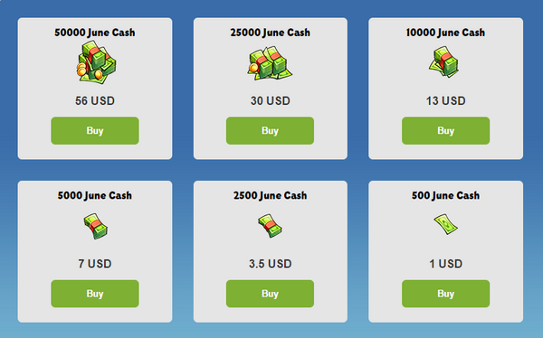 JuneCash Prices.png