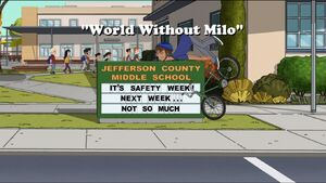 Click here to view more images from World Without Milo.