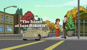 The Island of Lost Dakotas title card.jpg