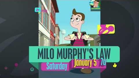 Milo Murphy's Law - High Five or Fist Pump on Disney Channel? (Promo)