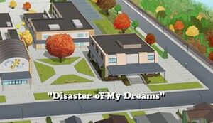 Disaster of My Dreams title card.jpg