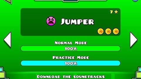 Geometry Dash - Level 7 Jumper (All Coins)