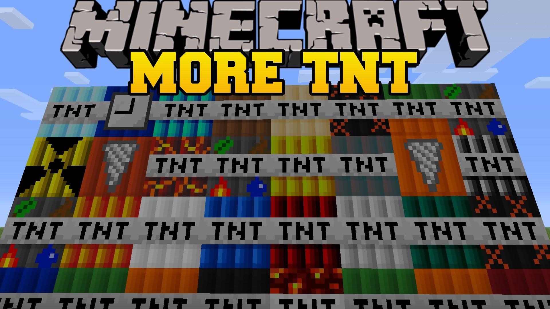 More TNT Mod Minecraft Mods Wiki Fandom