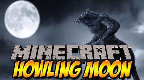 WEREWOLF MOD - Howling Moon Mod - Minecraft Mod Review -DEUTSCH-