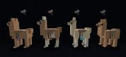 Vanilla style cloth saddles