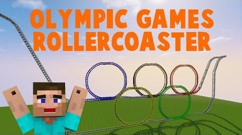 Minecraft- Olympische Spiele Achterbahn ♦ MineCoaster by enbecko