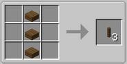 Post block crafting recipe