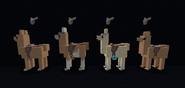 English style cloth saddles
