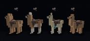 Western style cloth saddles