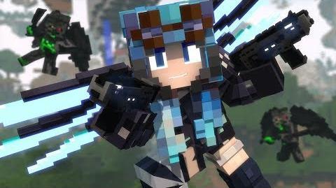 """Wings of Salvation"" - A Minecraft Original Music Video ♪"