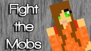 """♪ """"Fight the Mobs"""" A Minecraft Song Parody of Justin Bieber's """"As Long as You Love Me"""" ♪"""