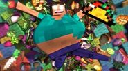 Fat Herobrine Life - Minecraft Animation (Music Video) ♪