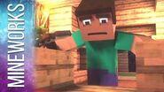 "Minecraft Song Parody ""Where My Diamonds Hide"" - Imagine Dragons Demons"