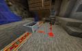 Cart on detector rail