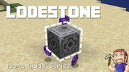 Lodestone - Minecraft Micro Guide