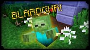 ✔ Minecraft How to make a Jump Scare Grave