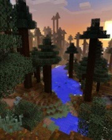 Giant Tree Taiga Biome Minecraft Wiki Fandom