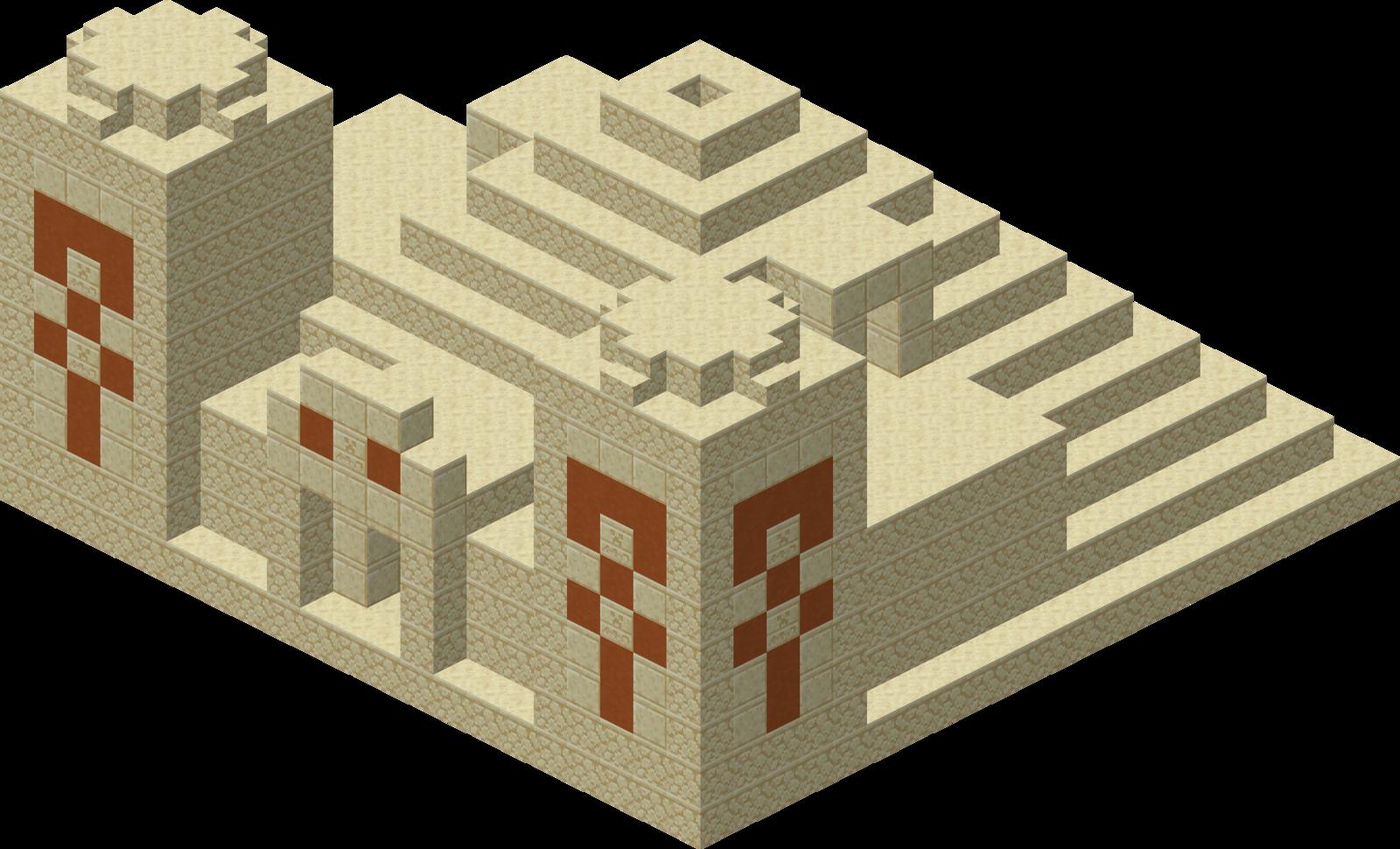 Desert Pyramid Minecraft Wiki Fandom