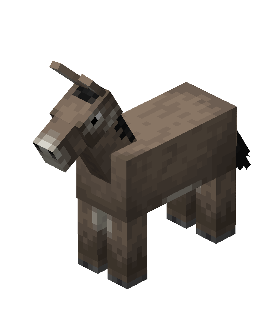 Donkey  Minecraft Wiki  Fandom