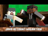 Java Account Migration- A Fun Announcement by Dinnerbone