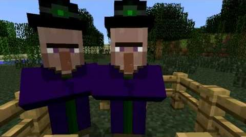 MINECRAFT Snapshot 12w38b - The witches nose