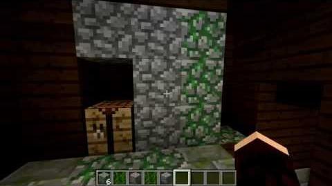 Minecraft Blocks & Items Mossy Cobble and Brick