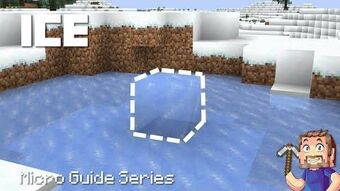 Ice Minecraft Wiki Fandom Blue ice can be obtained using any tool enchanted with silk touch, though a pickaxe is the fastest. ice minecraft wiki fandom