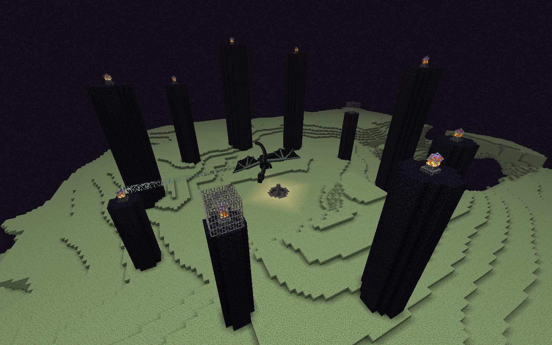 The End  Minecraft Wiki  Fandom