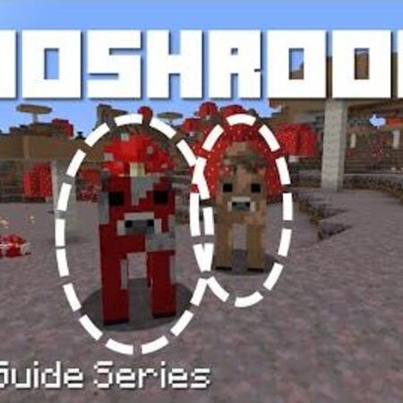 Mooshrooms - Minecraft Micro Guide