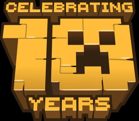 Minecraft 10th Anniversary