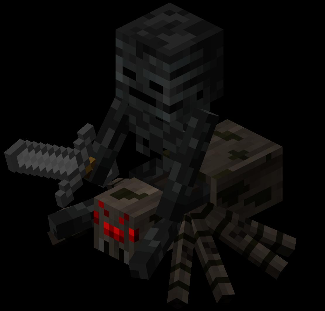 Wither Skeleton Jockey  Minecraft Wiki  Fandom