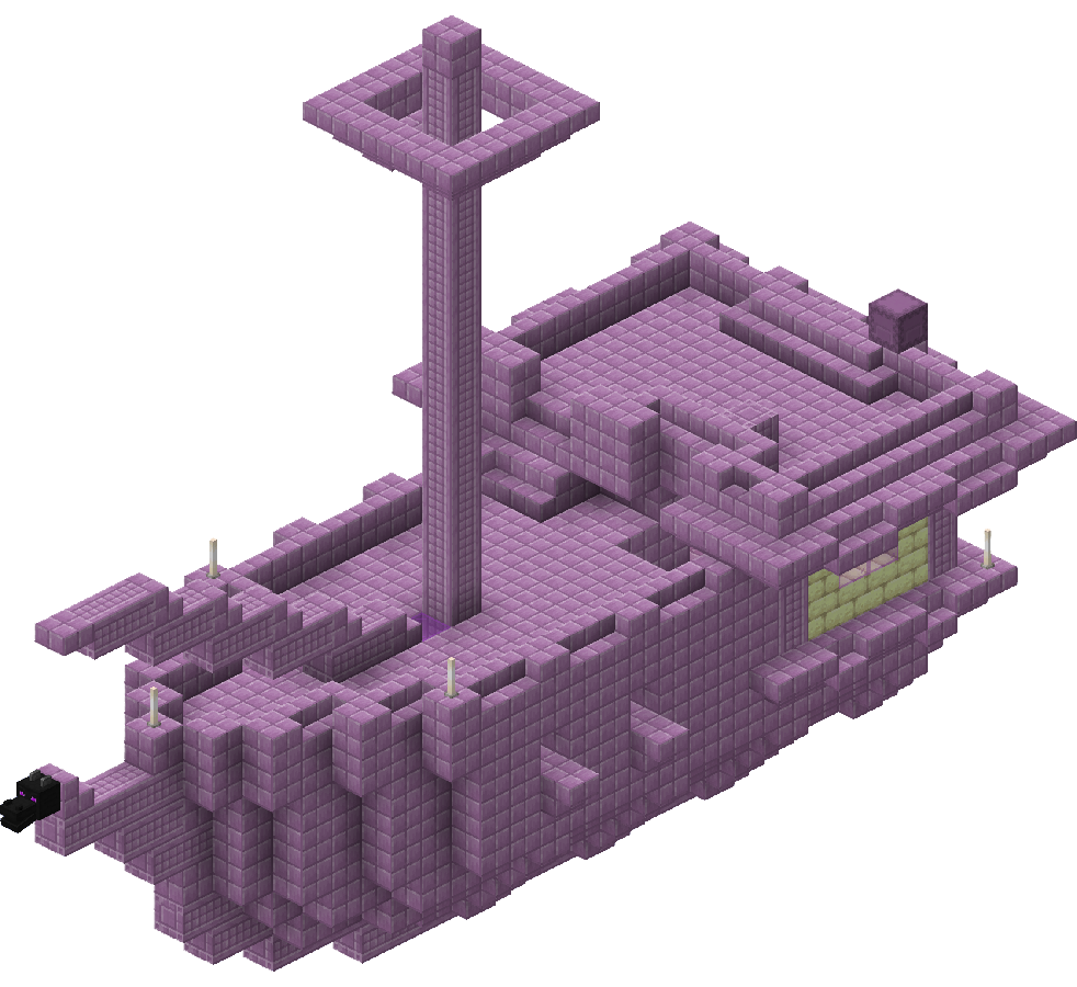 End Ship  Minecraft Wiki  Fandom