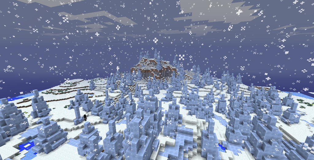 Ice Plains Spikes Biome