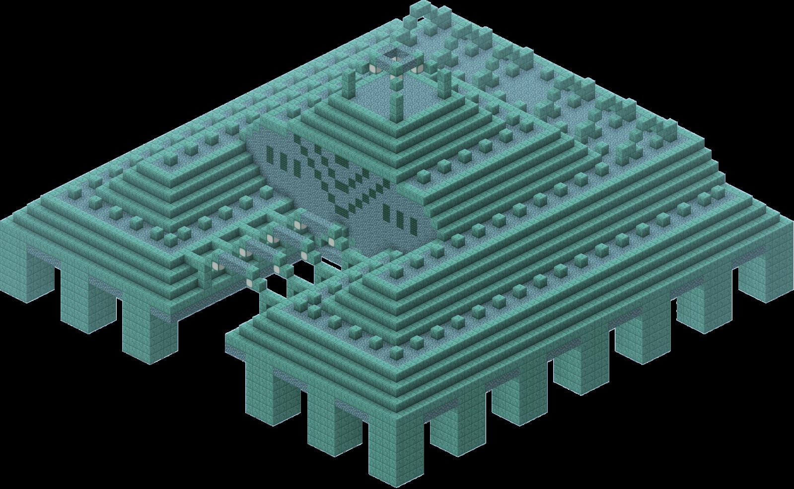 Ocean Monument  Minecraft Wiki  Fandom