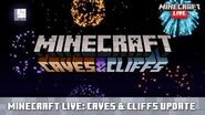 Minecraft Live Caves & Cliffs - First Look