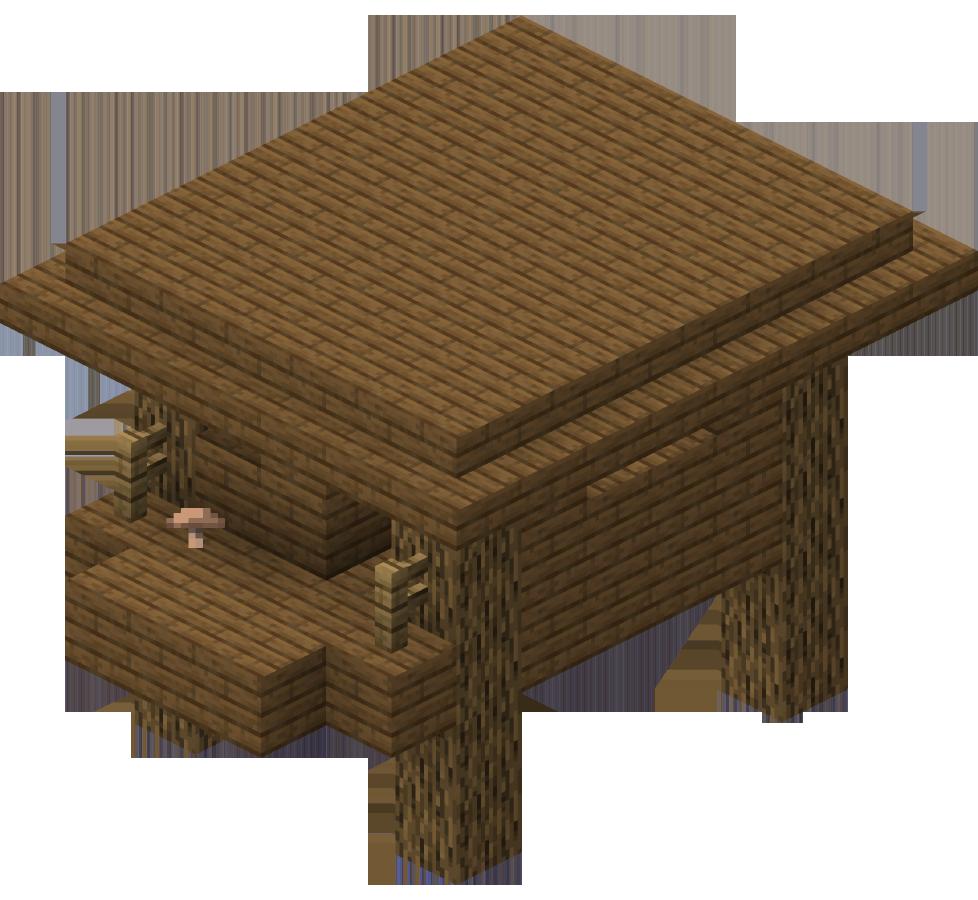 Swamp Hut  Minecraft Wiki  Fandom