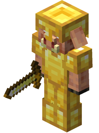 Full Gold Armor With Sword