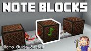 Note Blocks - Minecraft Micro Guide