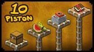 ✔ Minecraft 10 Ways to Use Pistons