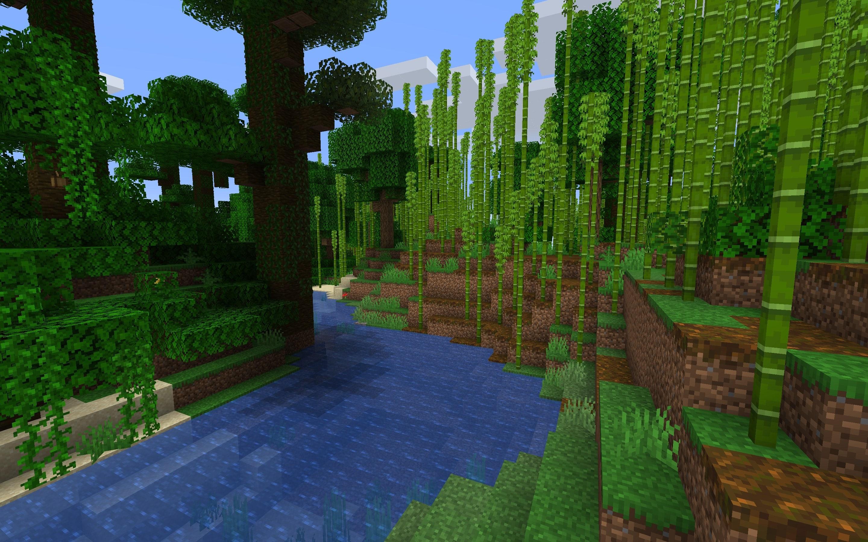 Bamboo Forest  Minecraft Wiki  Fandom