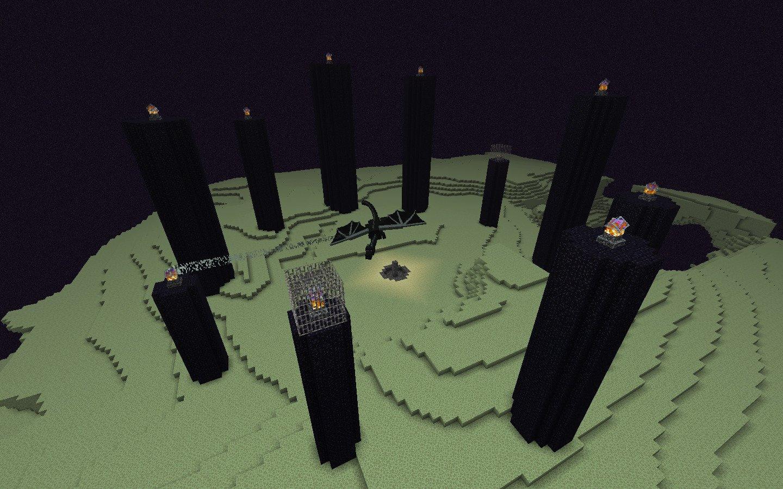 O End - Minecraft Wiki Oficial