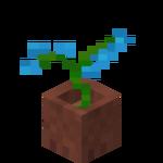 Modrá orchidej v květináči.png