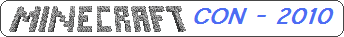 Logo der MinecraftCon 2010