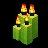 Vier hellgrüne Kerzen (Aktiv).png