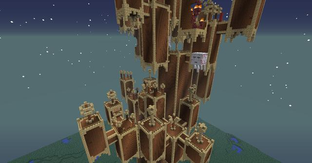 Ein Turm über dem Finsterwald