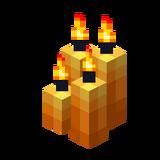 Vier orange Kerzen (Aktiv).png