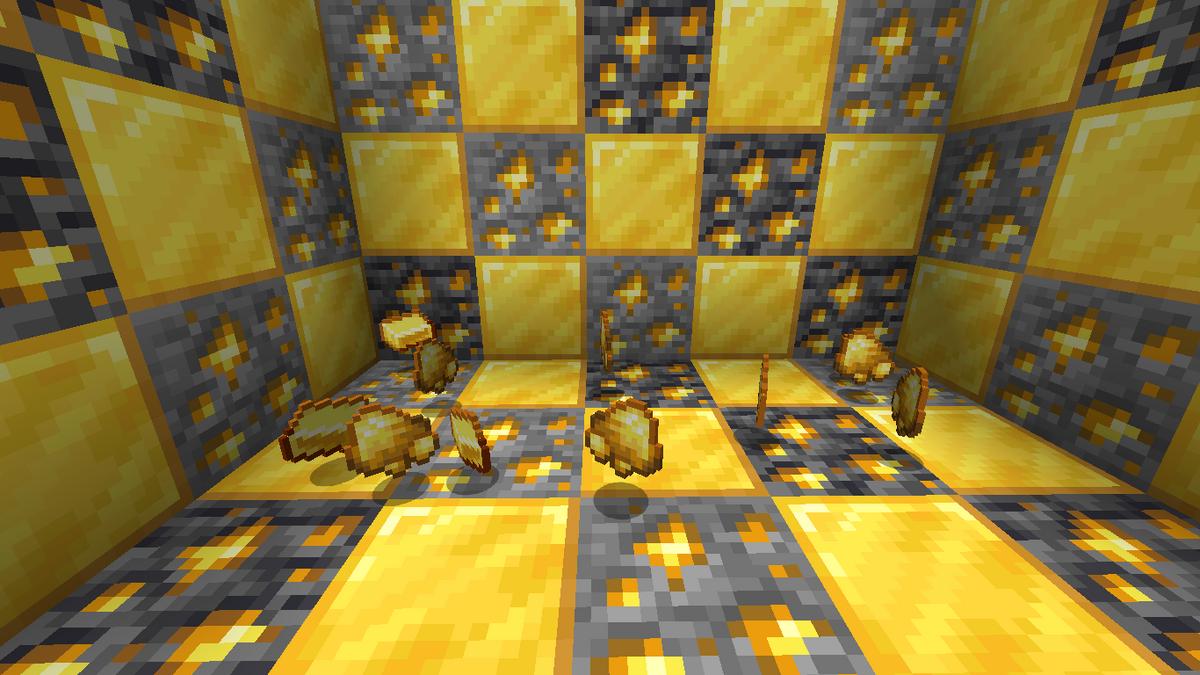 Minecraft Gold Finden