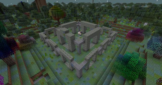 Ein Ziegenpalast