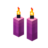 Zwei magenta Kerzen (Aktiv).png